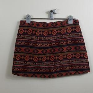 Forever 21 Aztec Skirt Size L